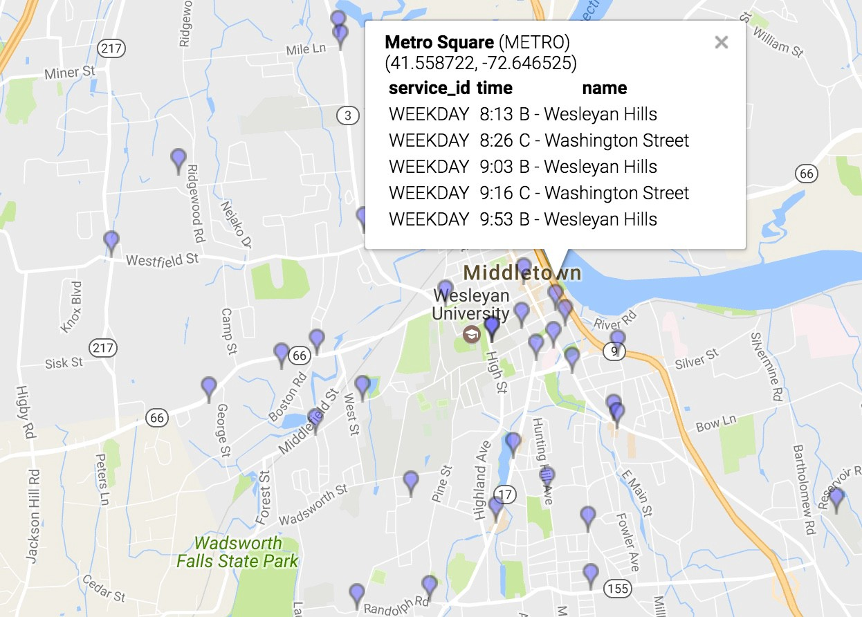 How Middletown and Other Small Transit Agencies Can Appear on Google