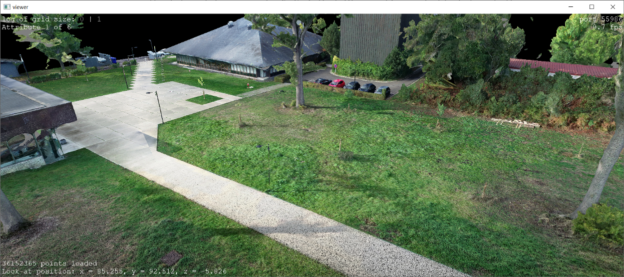 3D point cloud from Photogrammetry