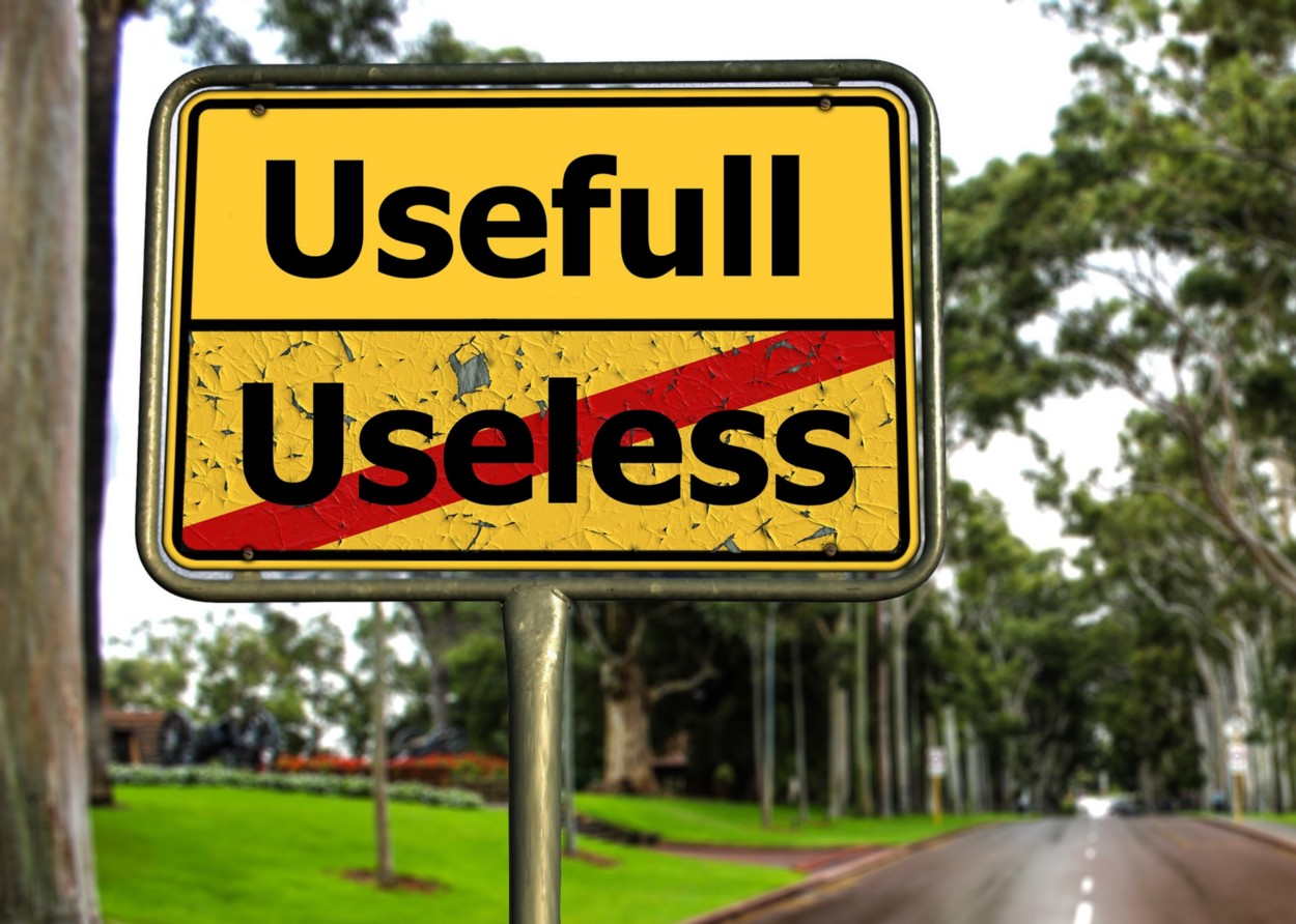 usefull vs. useless