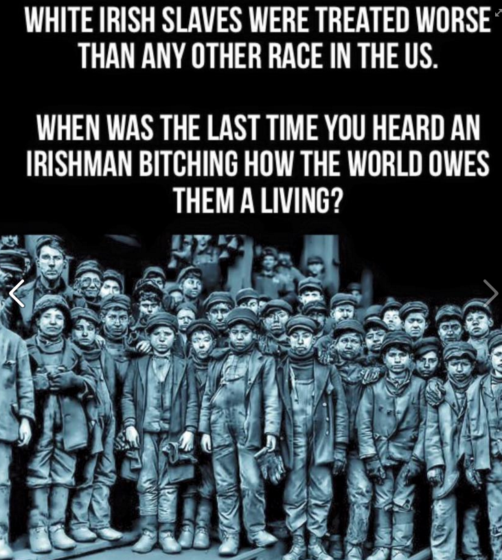 No The Irish Were Not Slaves Too Pacific Standard