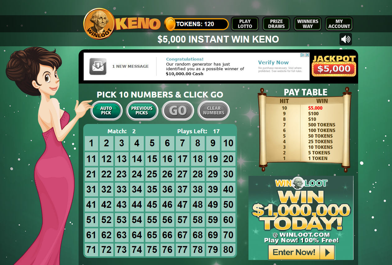Online sweepstakes directory instant wins with lots