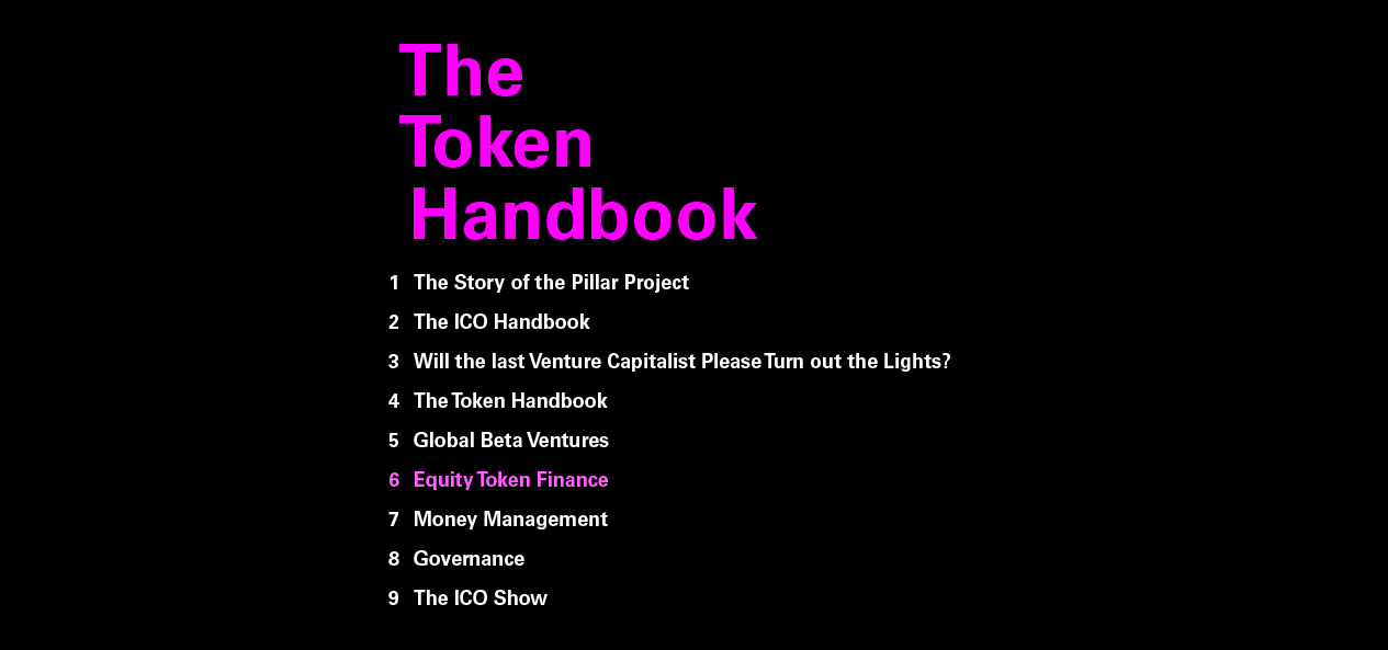 equity token finance hacker noon this essay is the sixth chapter of the token handbook it covers blockchain based equity offerings several things make an equity token offering different