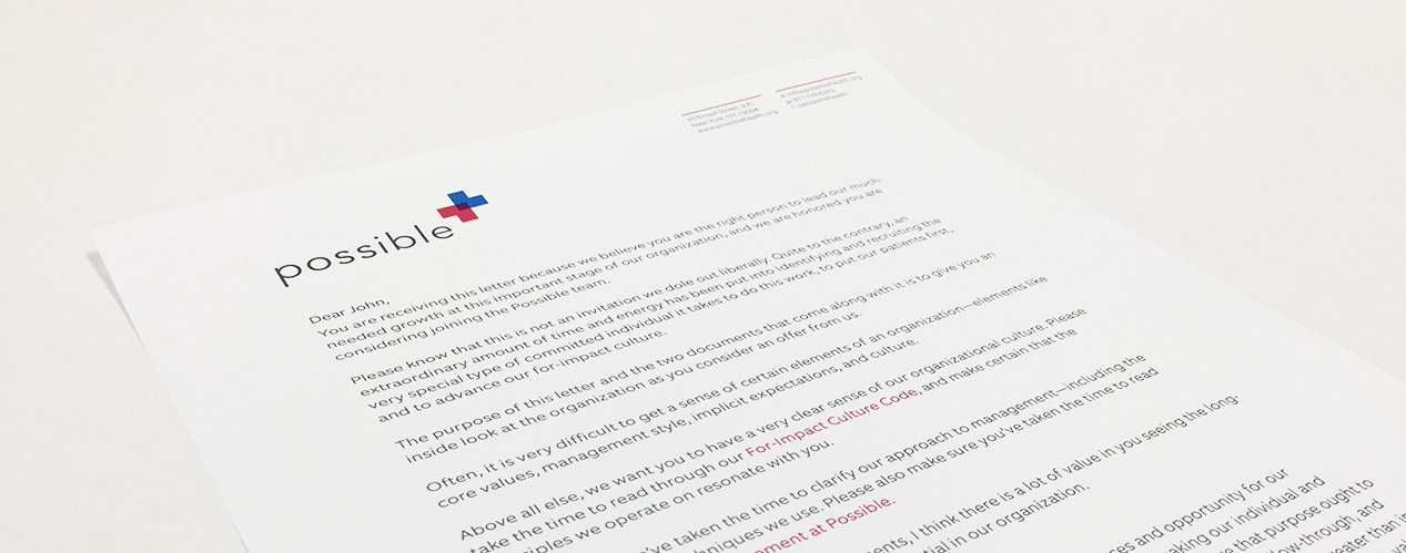 I send this letter to every candidate before making an offer – Medium