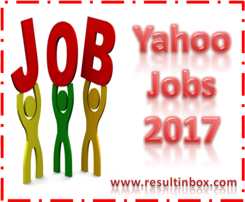 Yahoo Jobs 2017 Latest Freshers Openings In India – Result