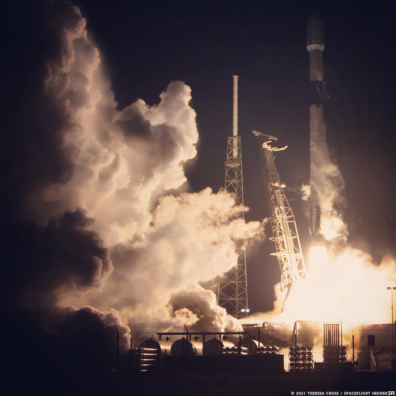 First SpaceX Launch of 2021