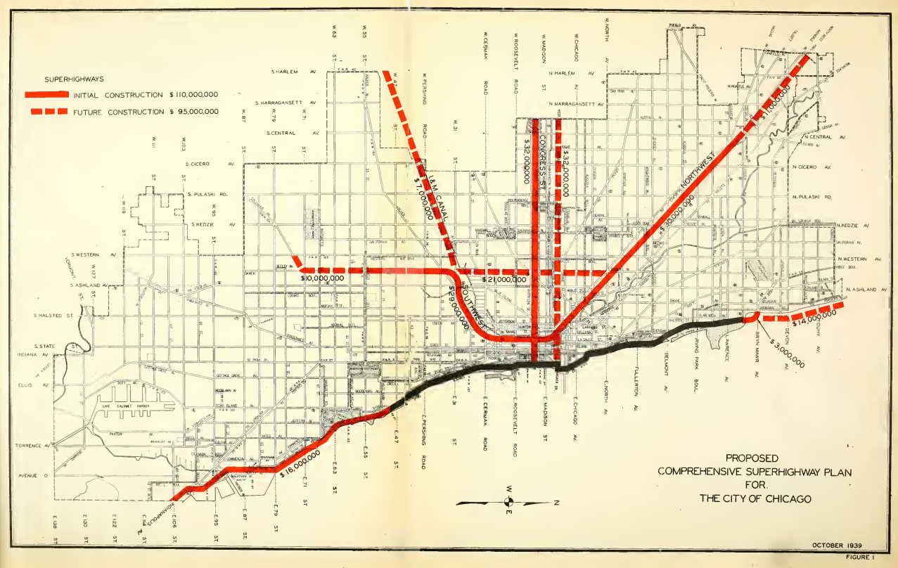 harrington was also the traffic engineer on the 1937 comprehensive local transportation plan for the city of chicago