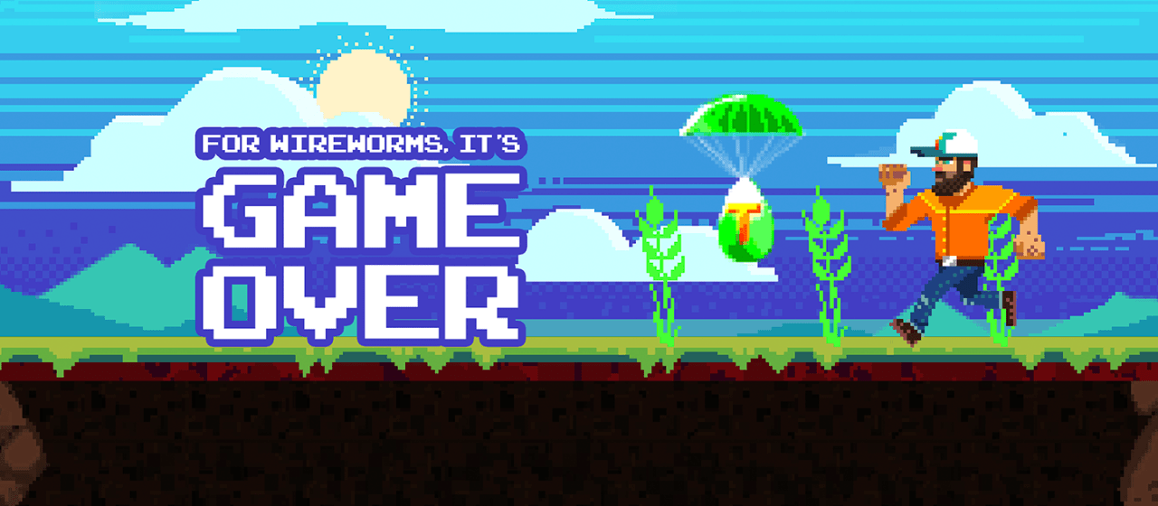 """Teraxxa™ Game Pits Farmers Against Wireworms In WebGL """"Game Over"""" Experience"""
