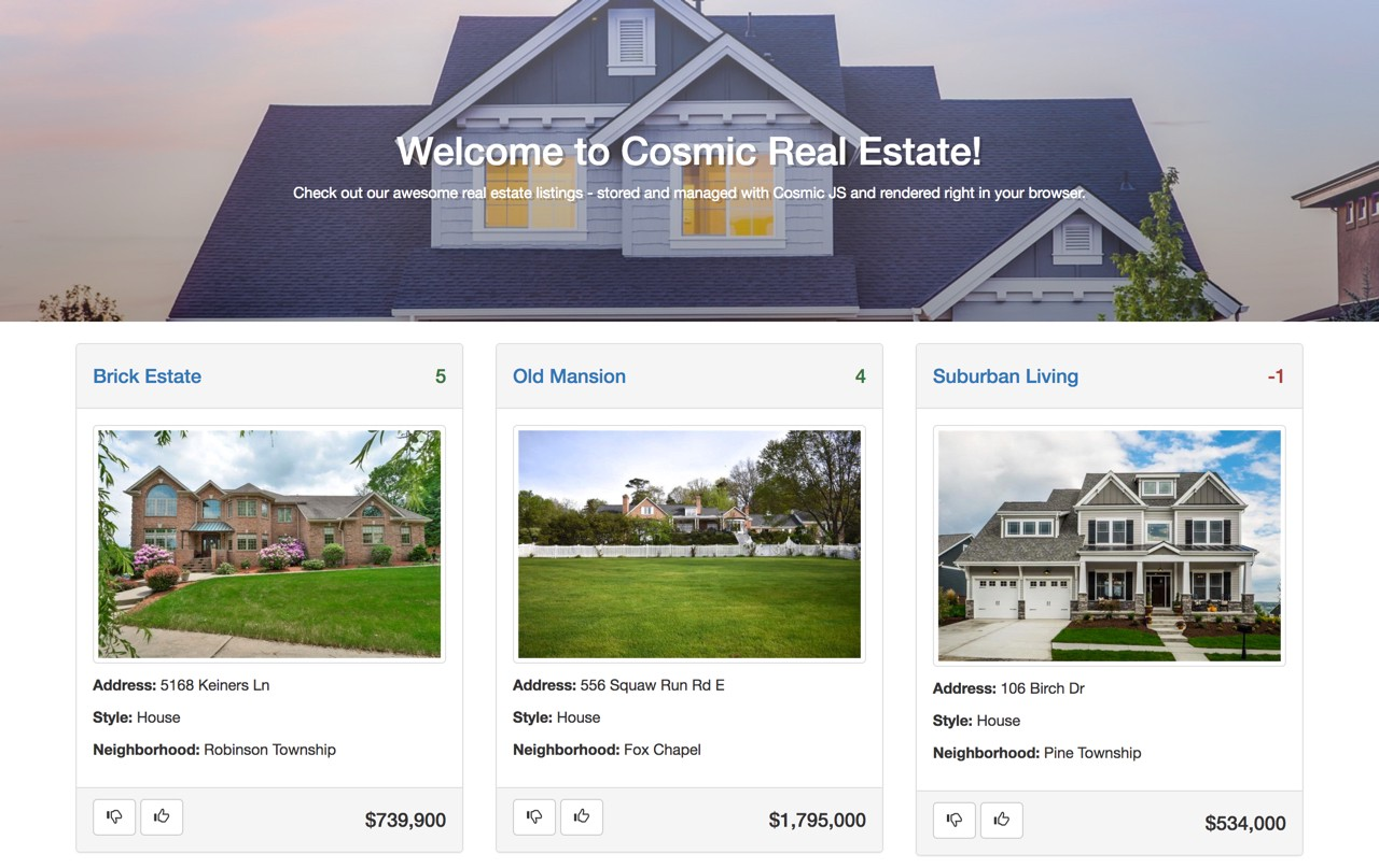 How To Build A Real Estate Website Using Emberjs