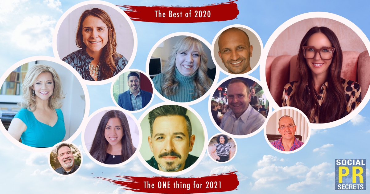 the best of 2020 and the one thing for 2021