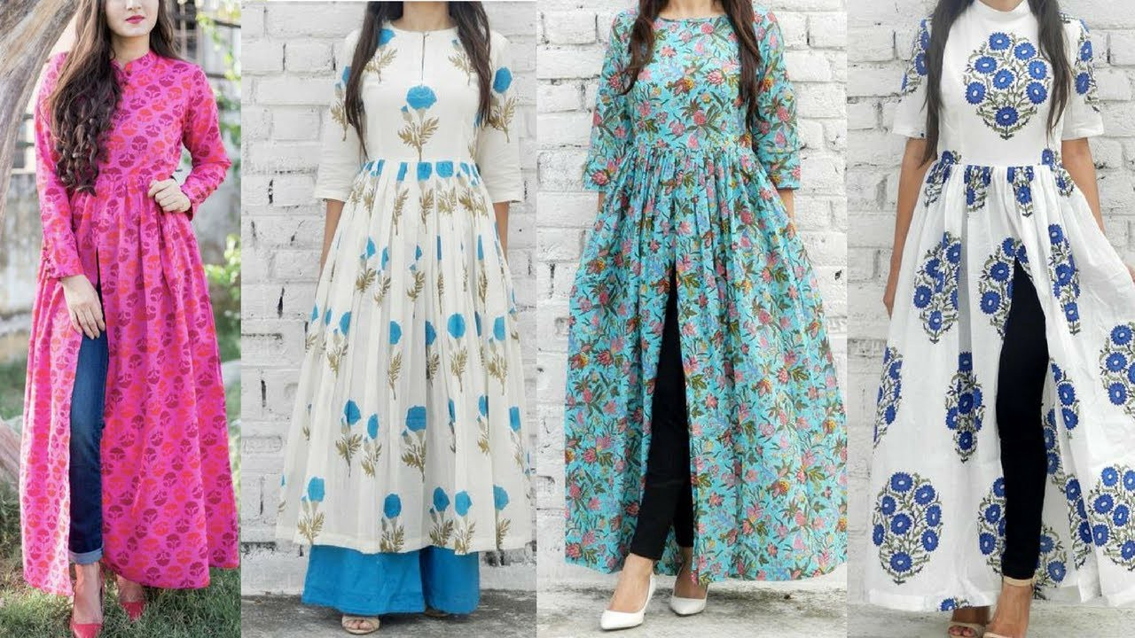 Trending Kurtis Of 2018 Aastha Jaiswal Medium