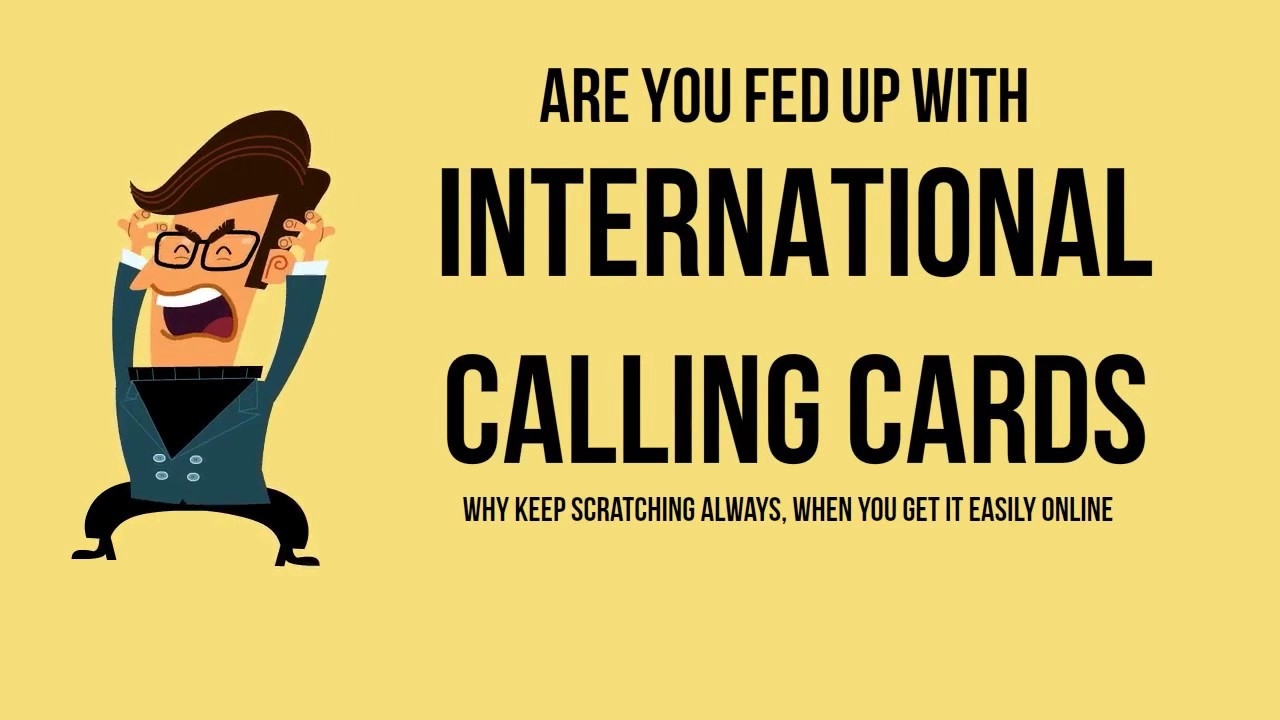 10 compelling reasons why you need international calling cards - International Calling Cards Online