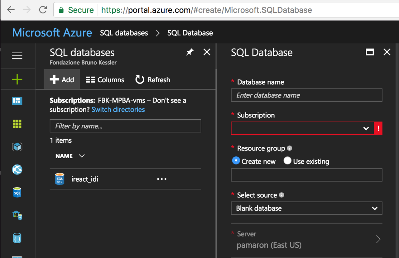 Deploy a django application connected to azure sql using docker and here a tutorial on how to create a sql database in azure azure sql database is a database as a service offering that enables you to run and scale highly baditri Image collections