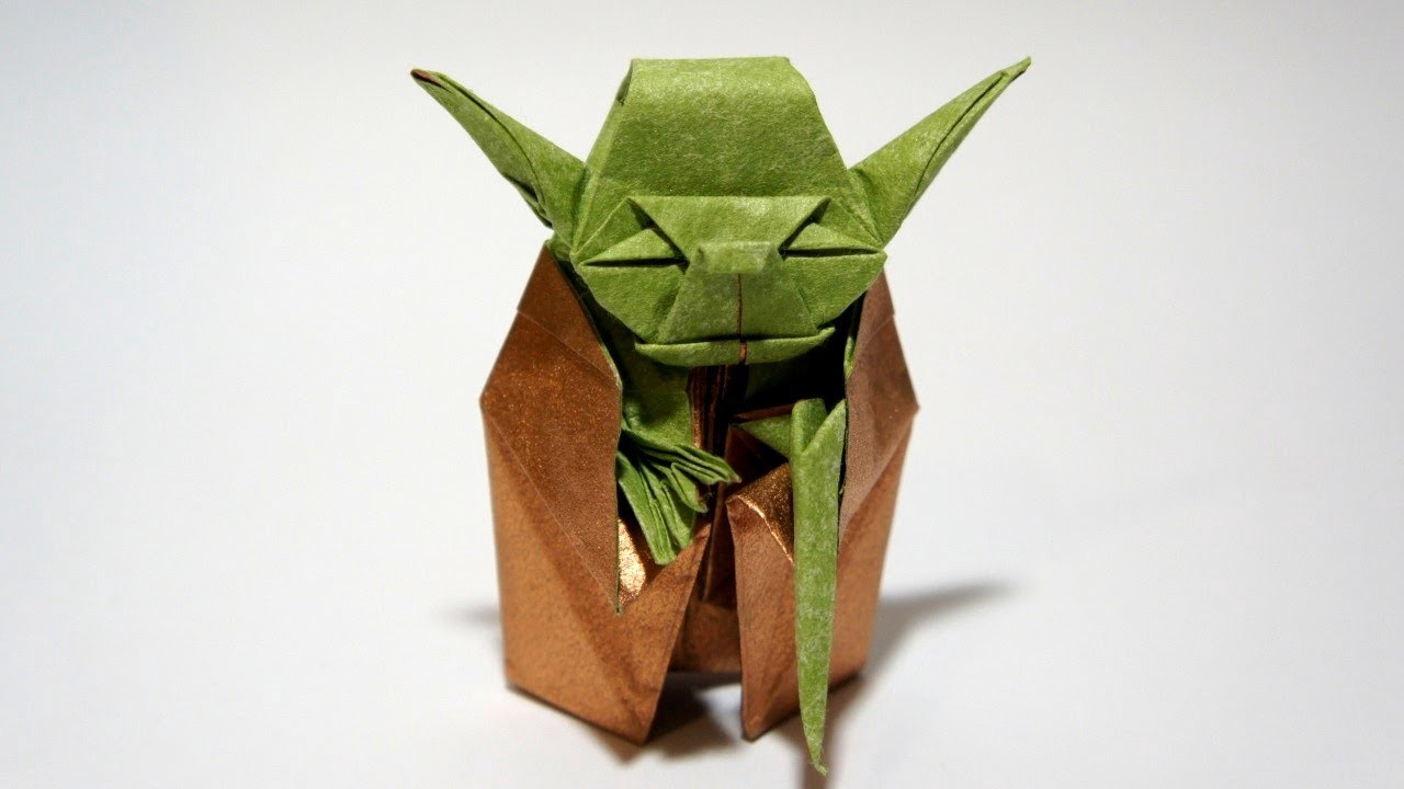 How To Make ORIGAMI YODA Japan Travel Guide JW Web Magazine