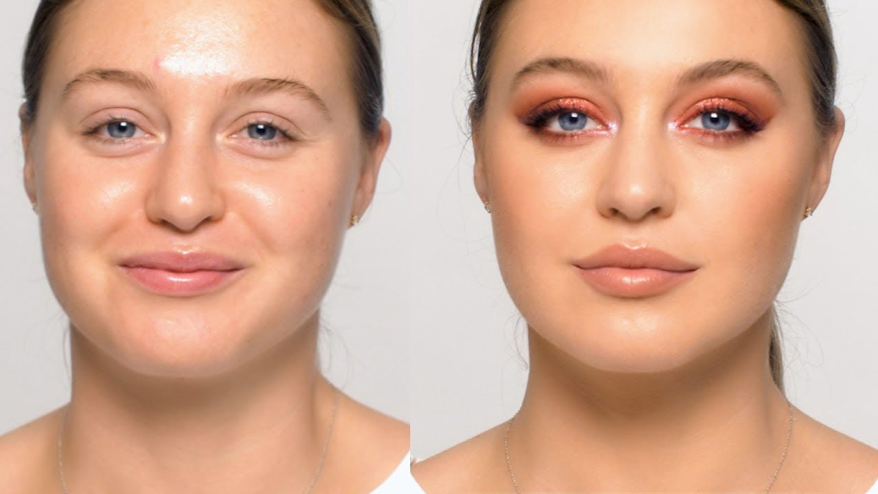 Gorgeously Glam Eye Makeup Tutorial With Warm Tones
