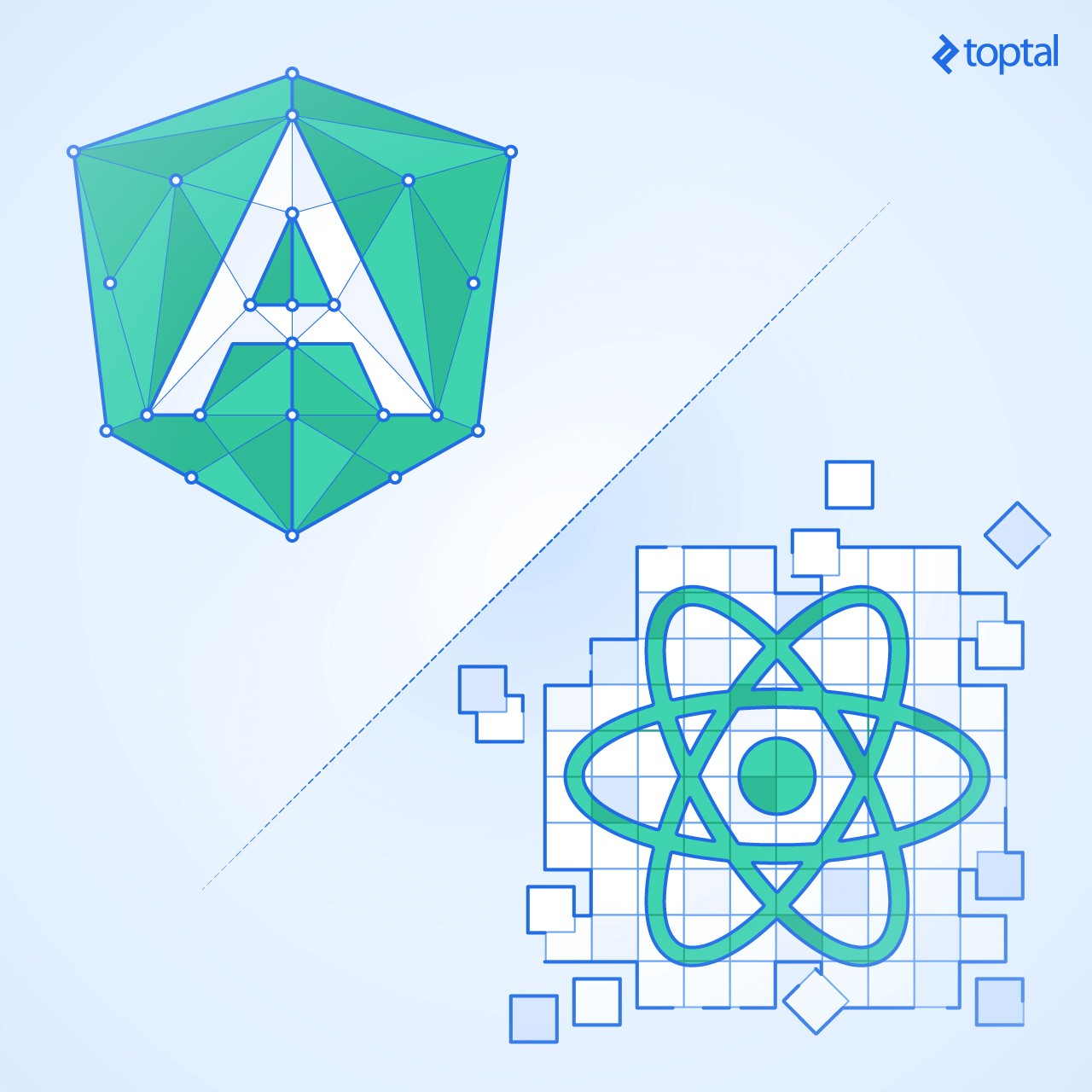 Angular vs react which is better for web development in this article you will learn how angular and react both aim to solve similar front end problems though with very different philosophies ccuart Gallery