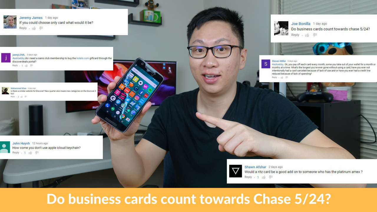 Friday Roundup + Q&A: Do Business Cards Count towards Chase 5/24?