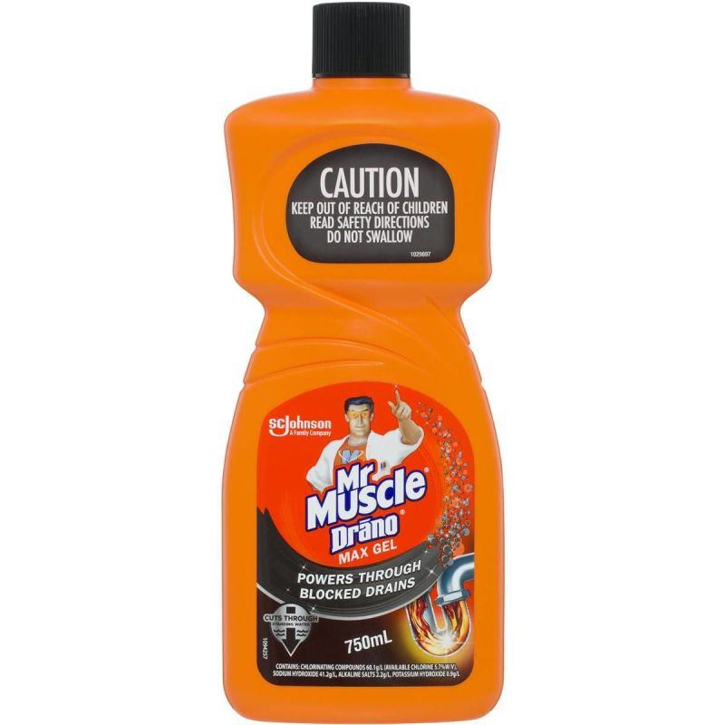 Mr Muscle cleaner bottle