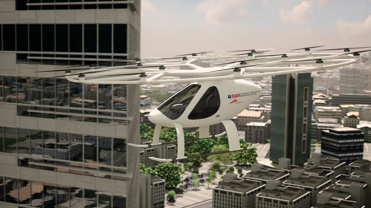Our Amazing Aerial Future How When And Why Air Taxis Composites Electrical Insulation Domestic Futures Just Deliveries Will Change World