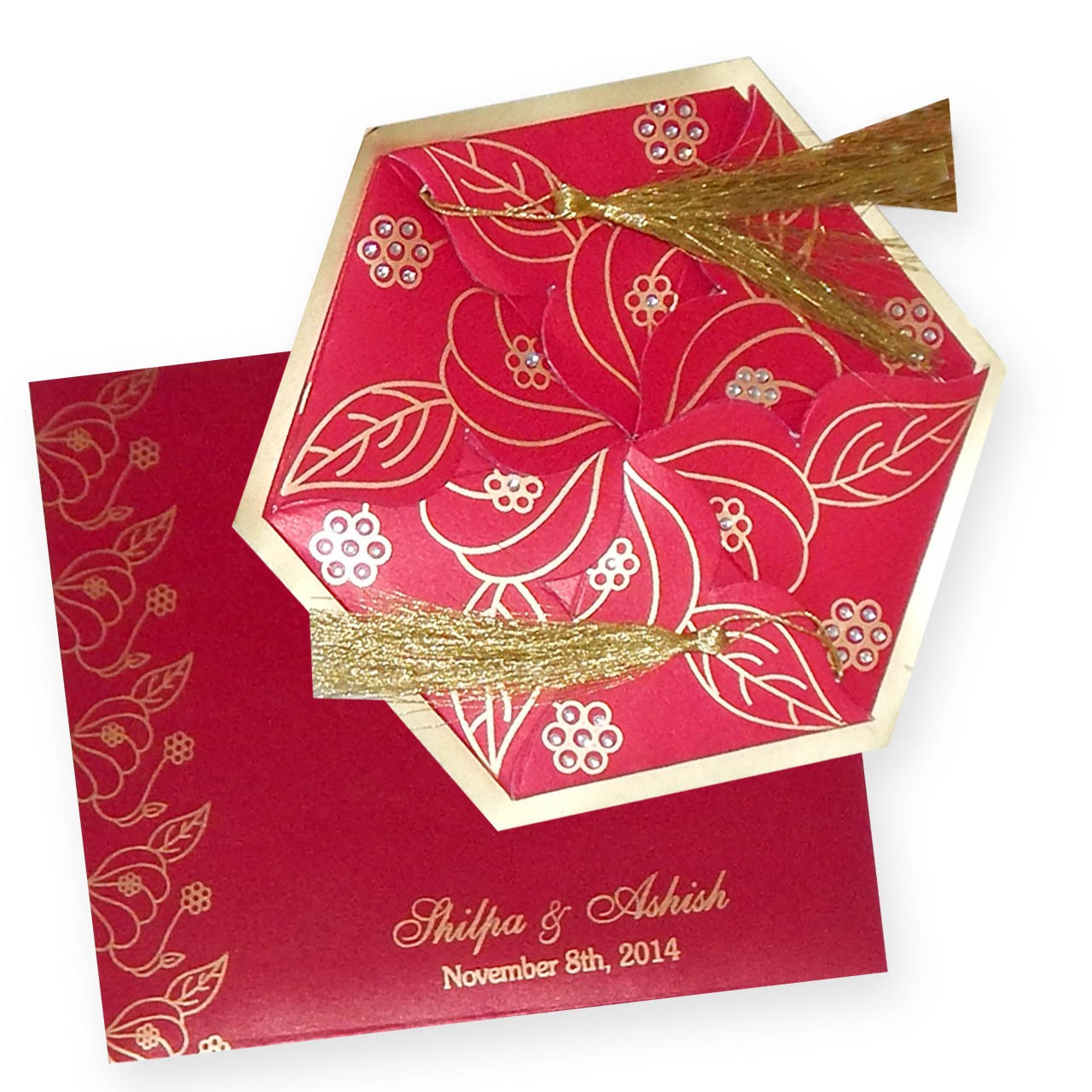 Depict Your Emotions to Guests by Using Invitation with Flower Open ...