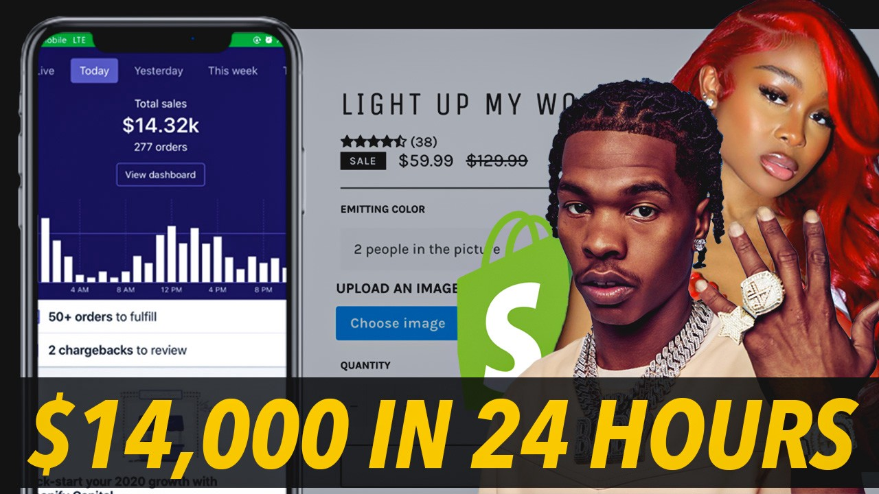 ,407 IN 24 HOURS USING FAMOUS INFLUENCERS (SHOPIFY DROPSHIPPING)