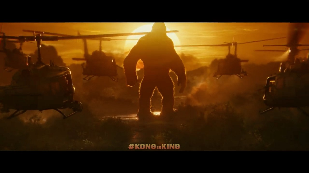 Kong: Skull Island — movie review; relax with the over-analysis