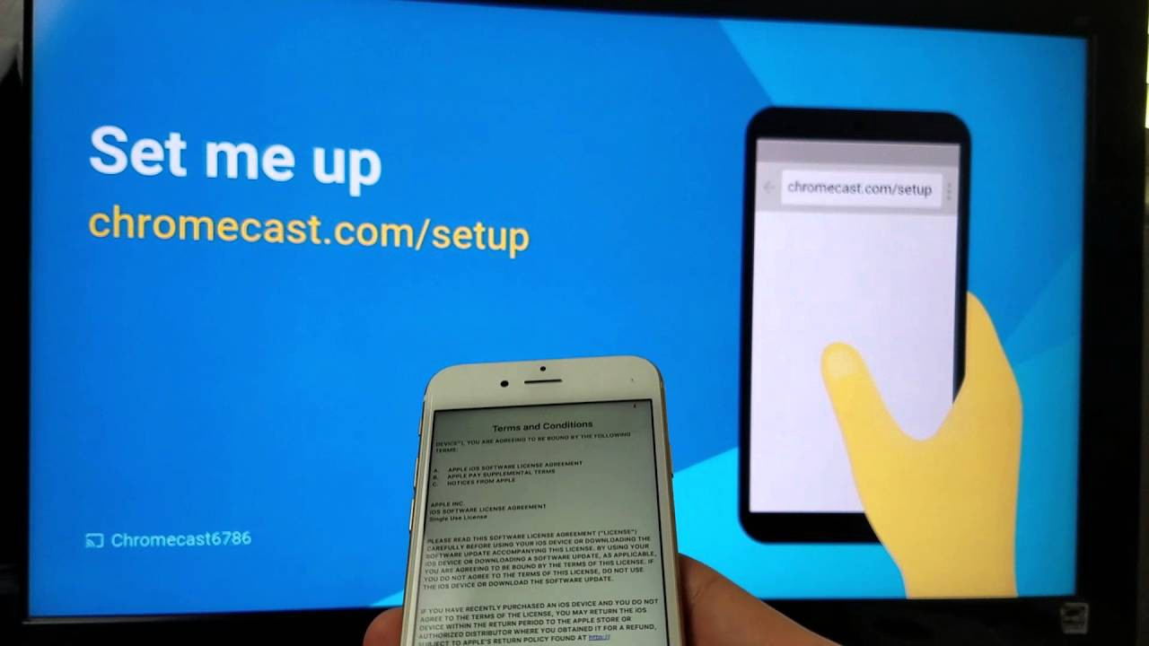 how to connect to chromecast to tv