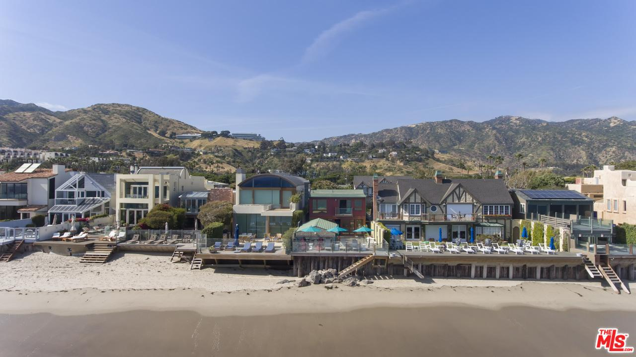 Sunday Open House At A Malibu Beachfront Property With Literary History
