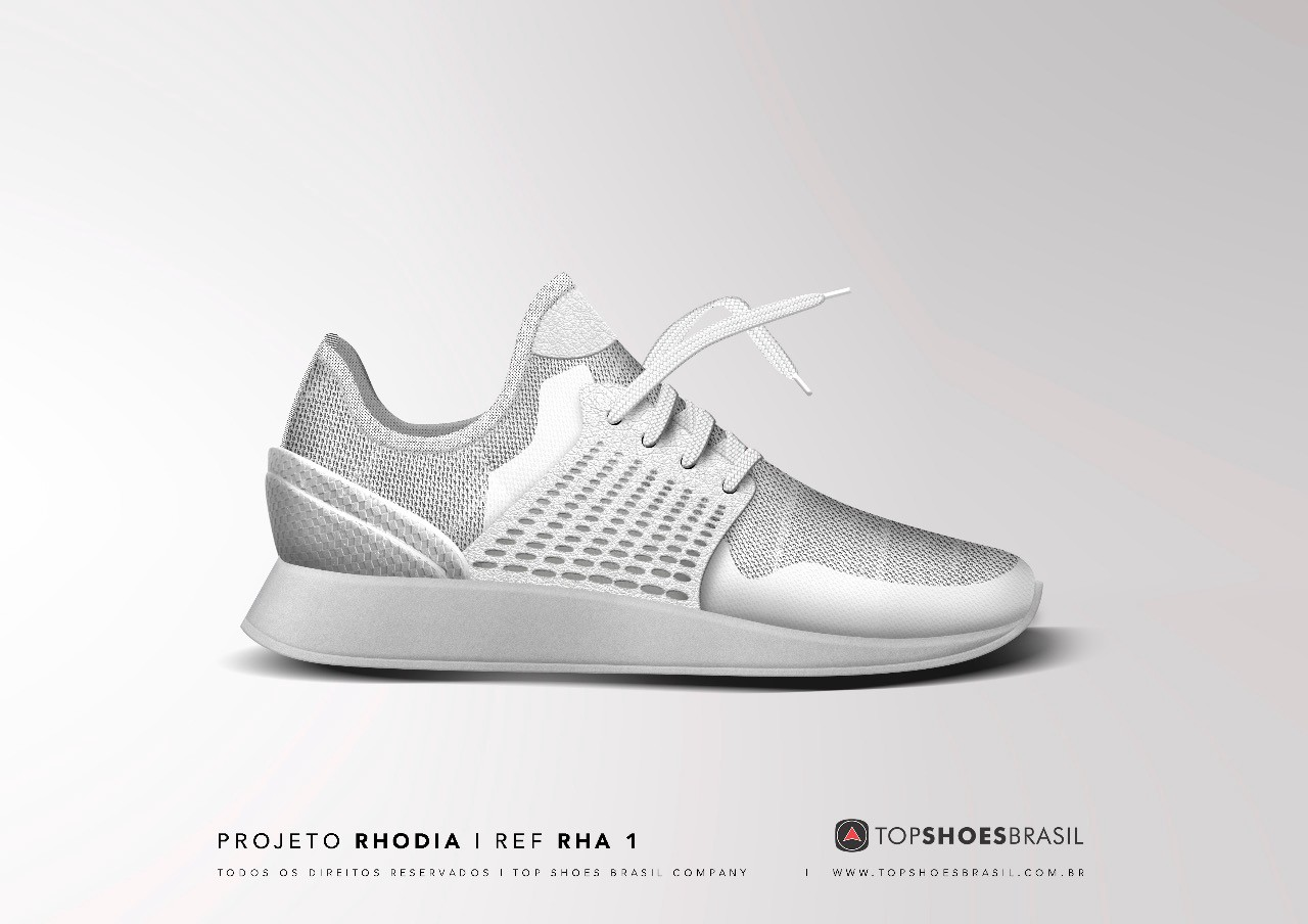 What is the technology behind Top Shoes Brasil sustainable sneakers ?