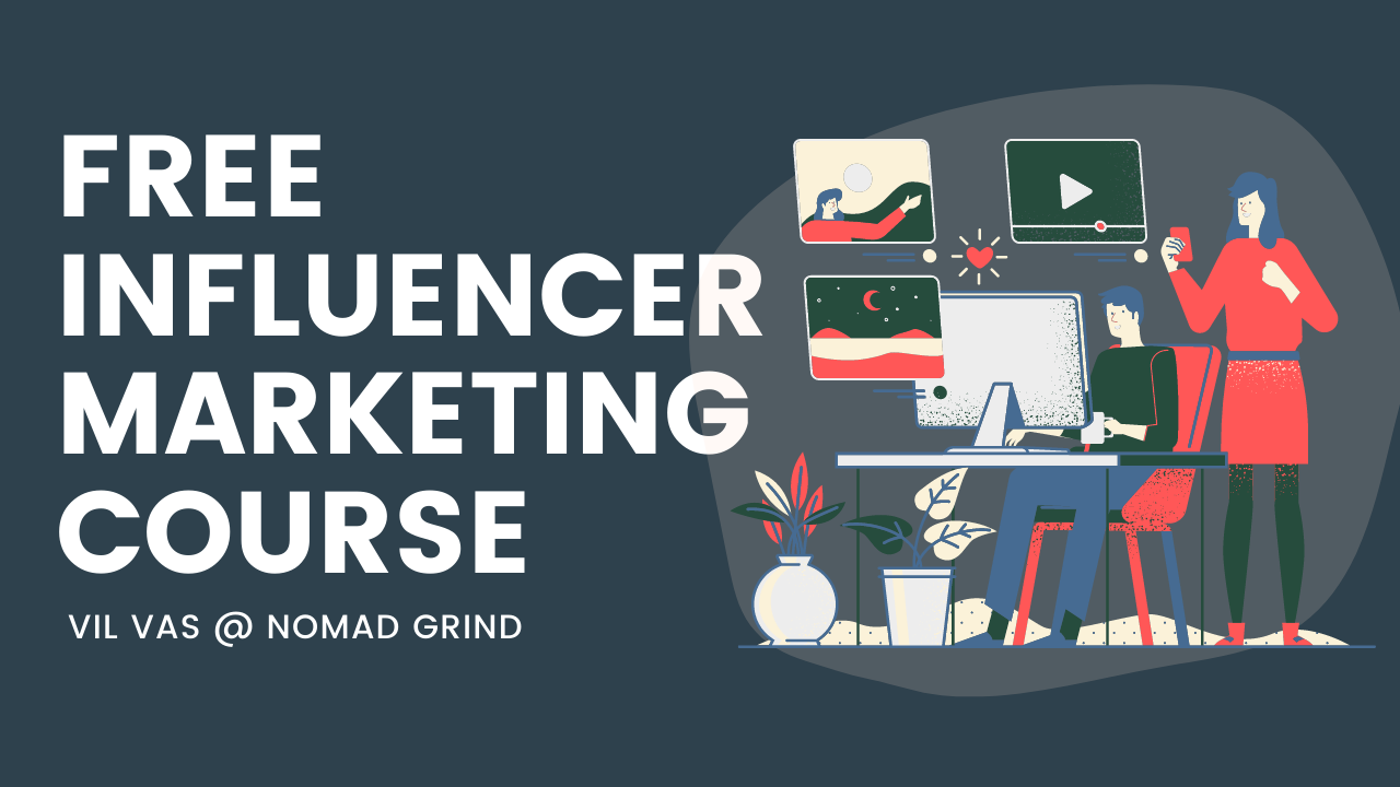 Free Influencer Marketing Course  (000/Month)