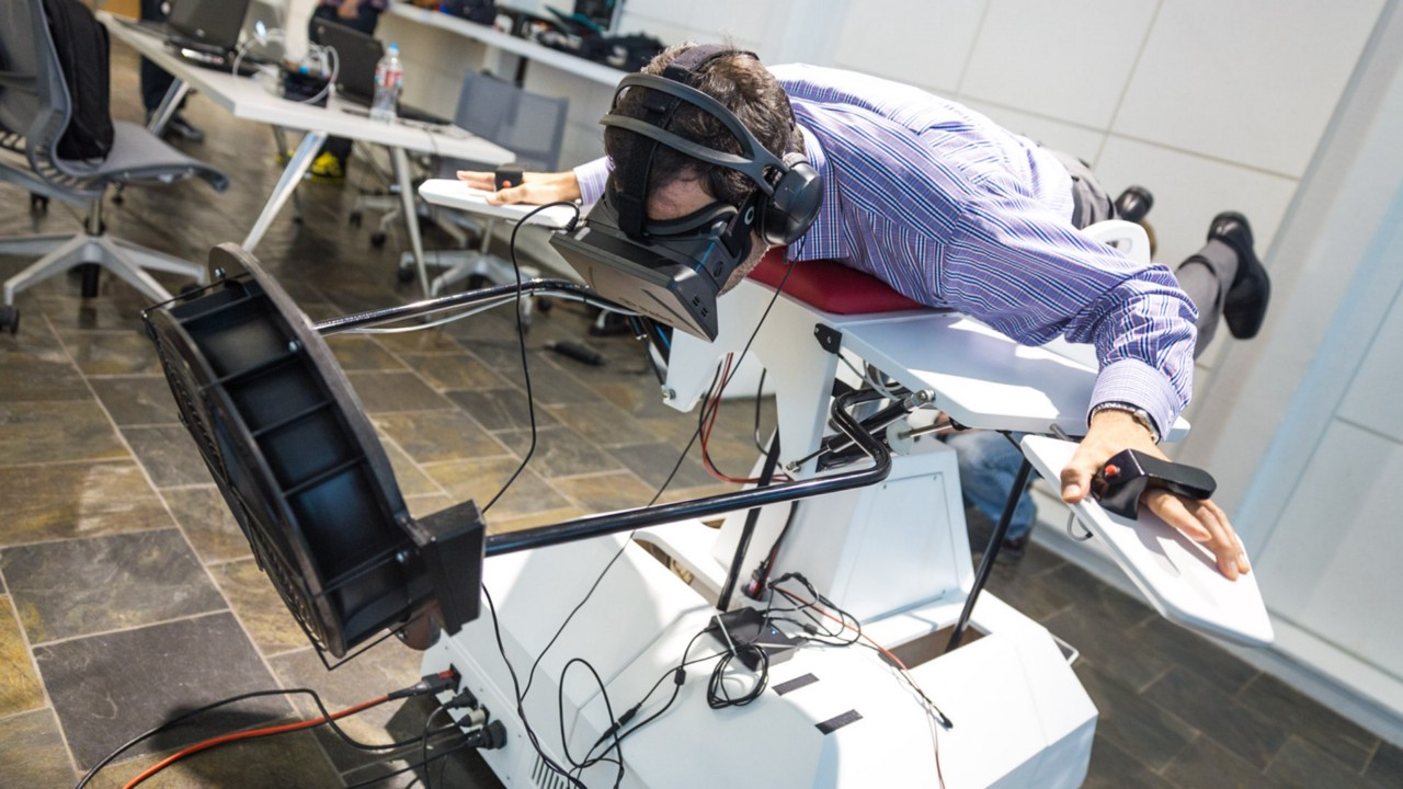 VR technology and aviation