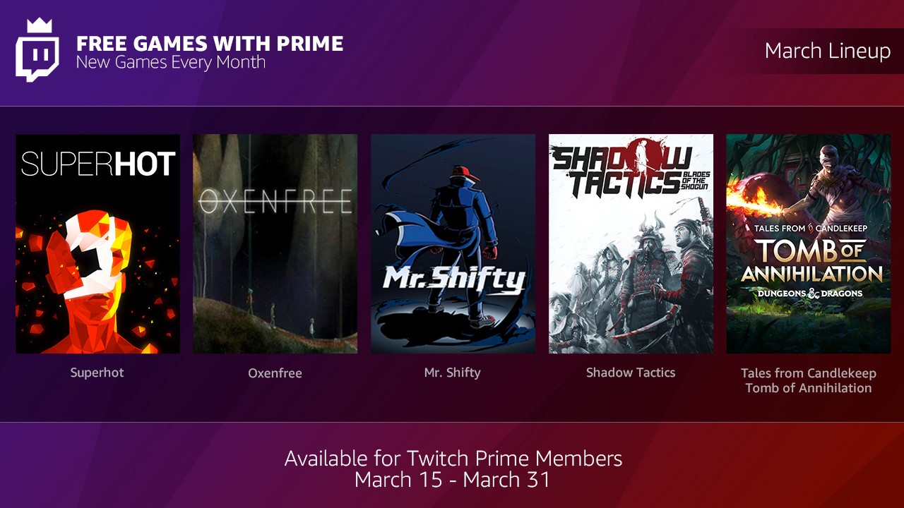 twitch prime account free download