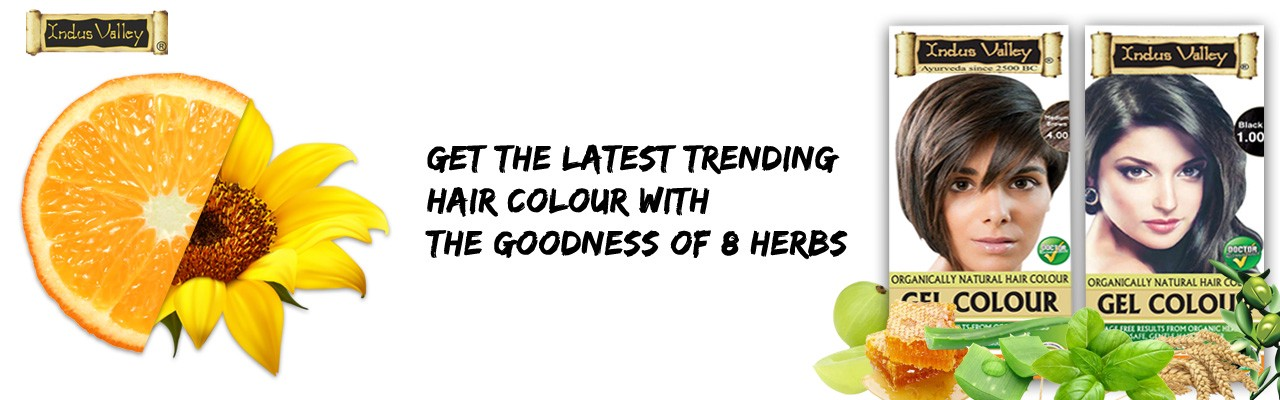 Opt For This Herbal Hair Colour For A No Skin Stain Colouring Experience
