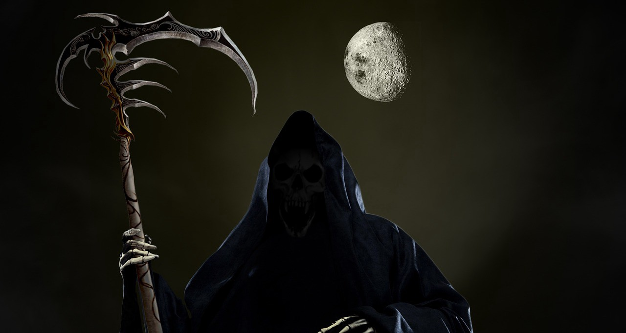 Grim Reaper Didnt Wait For Halloween Life Speaks Medium