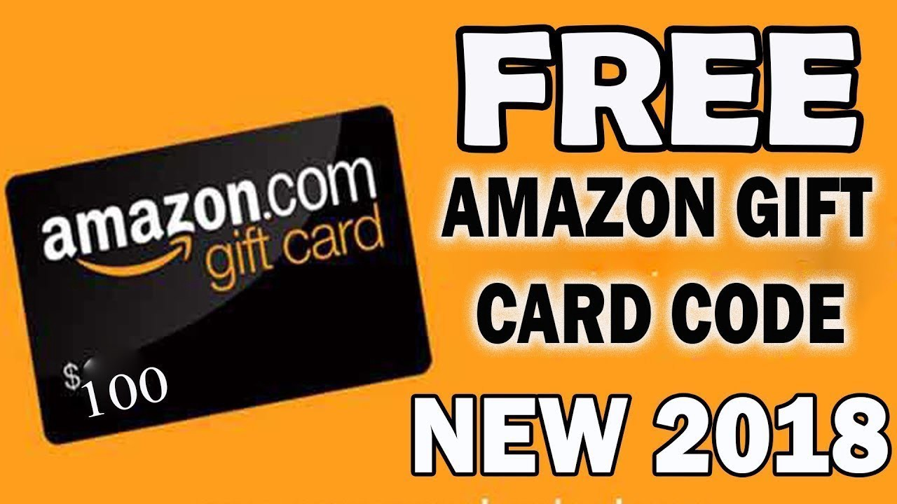 amazon gift card code generator 2018 android ios 100 working