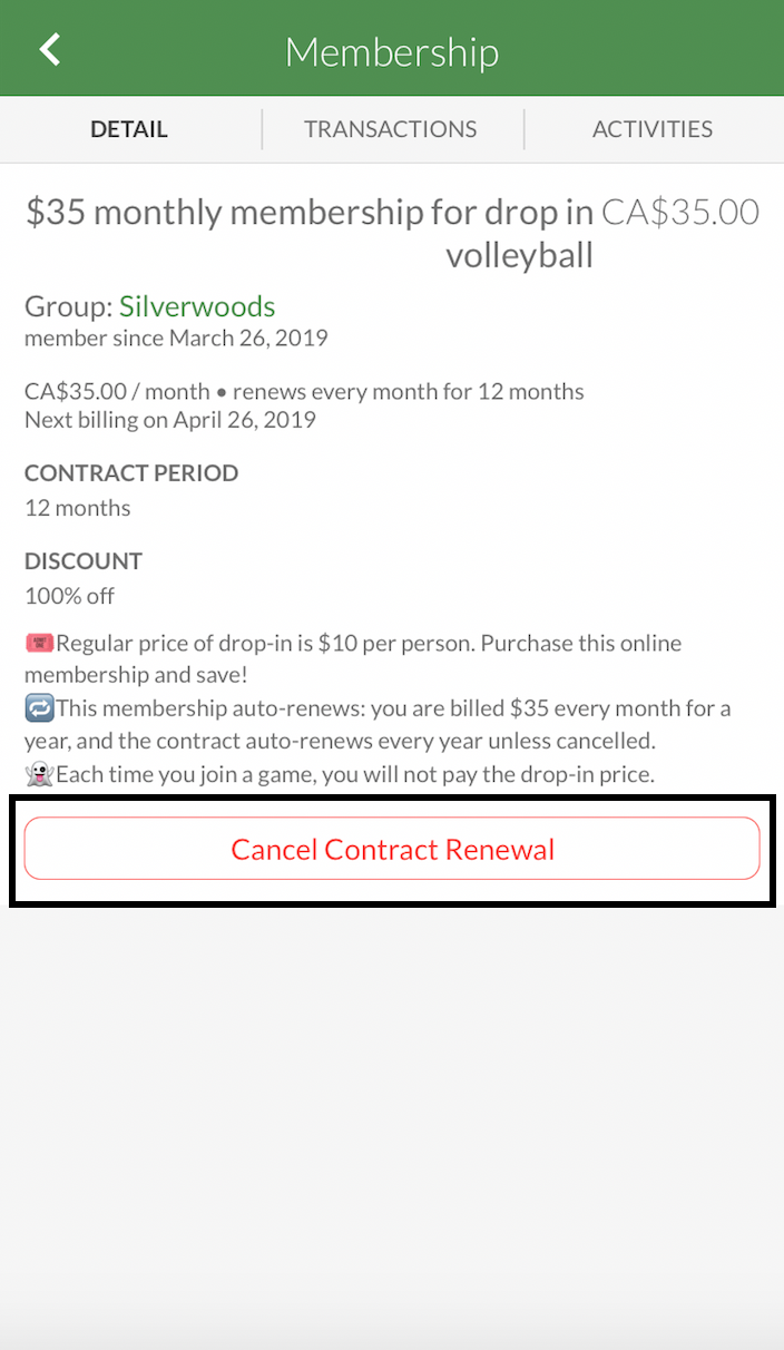 Players: How to cancel your membership (and request for refunds