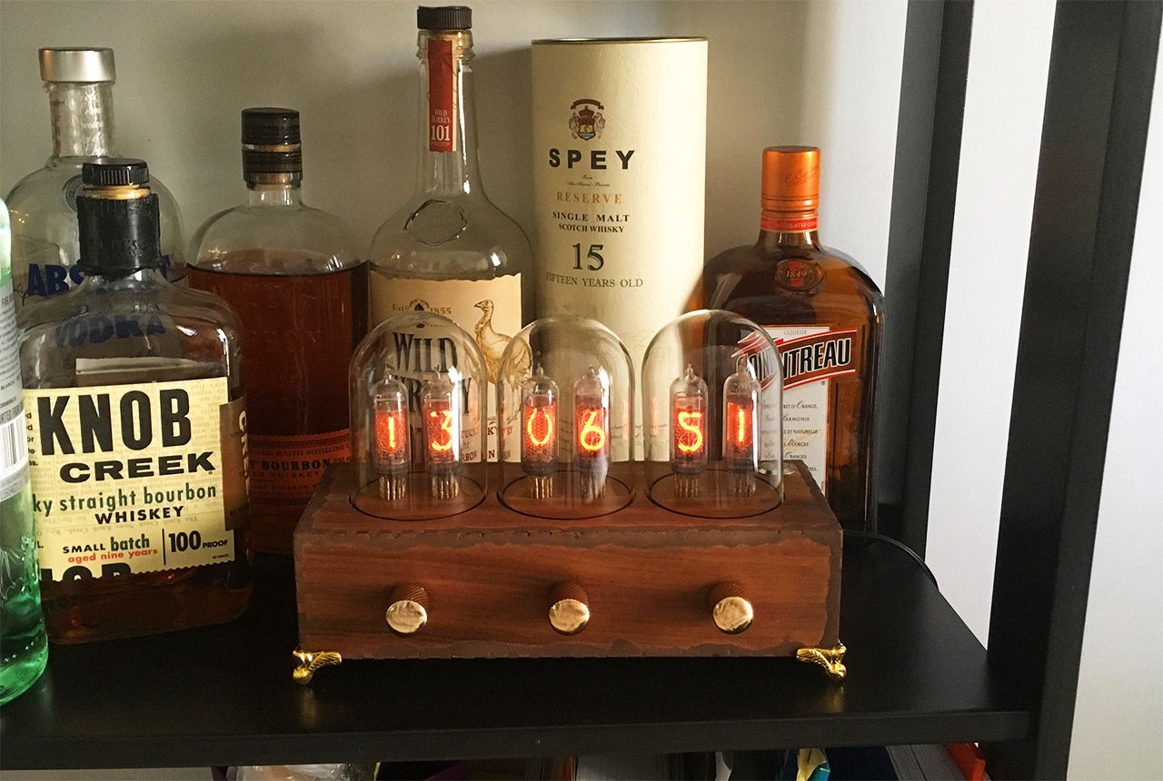 A Victorian Style Nixie Tube Clock Hackster Blog