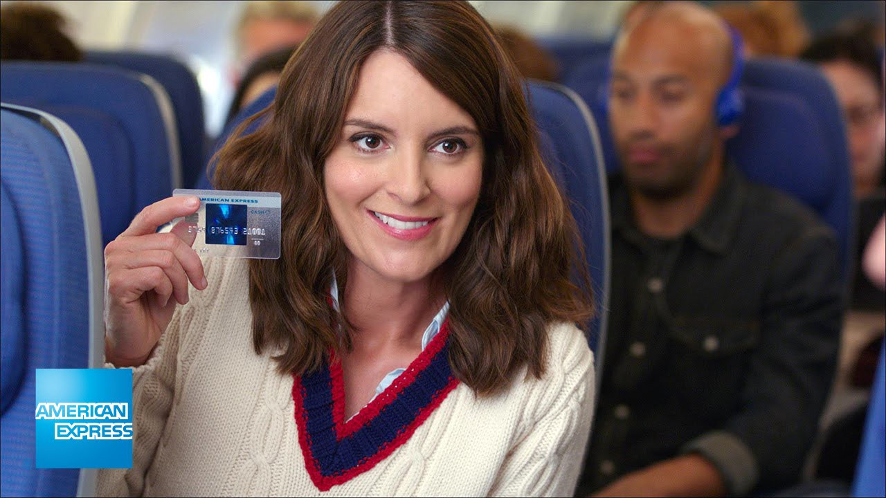 Over The Past Year, American Express Has Run A Series Of Commercials  Featuring Tina Fey Using Her American Express Blue Cash Everyday® Credit  Card To Do ...