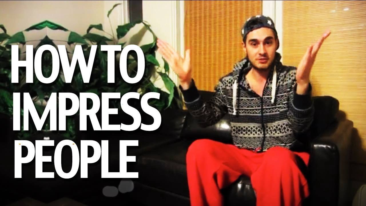 How to impress a person in first meeting
