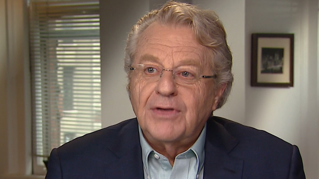 TV Host Jerry Springer celebrates the taping of 'The Jerry Springer Show'  20th anniversary