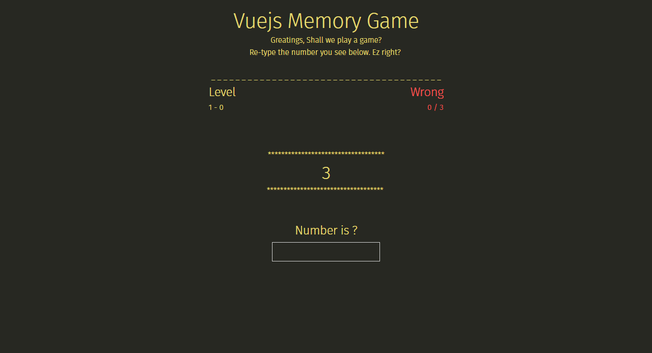 make a simple game with vuejs sadick medium