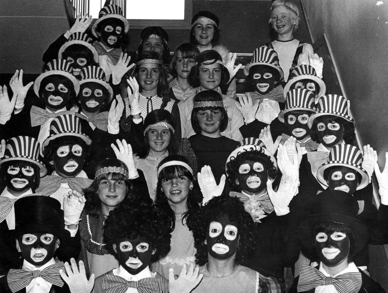 Hm launches a black and white minstrel clothing range for kids