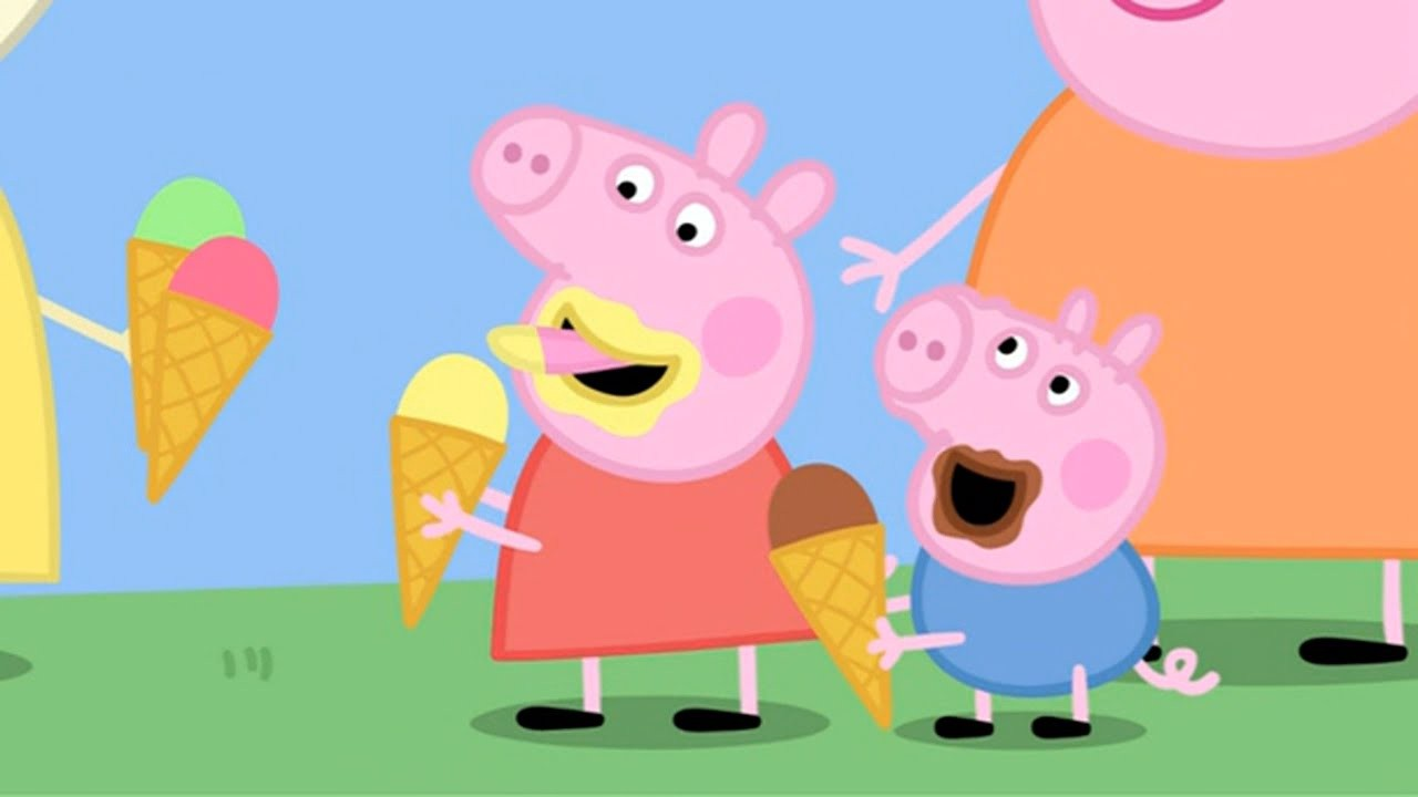 Peppa pig english episodes only