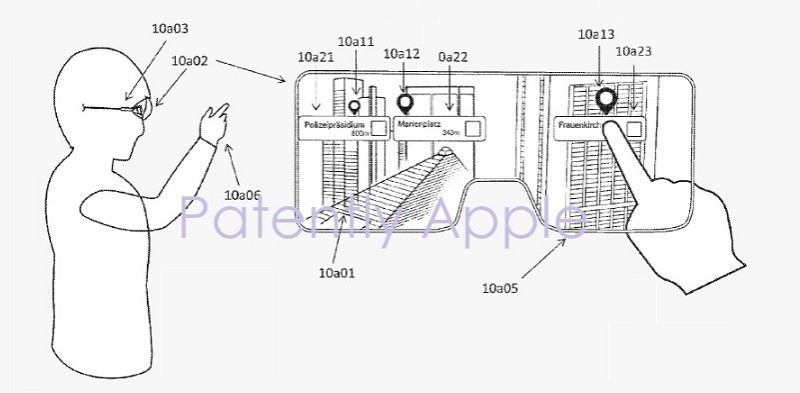 Apple AR wearable patent