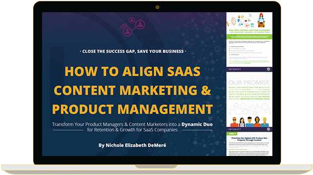 Free #eBook: How to Align SaaS Content Marketing and Product Management