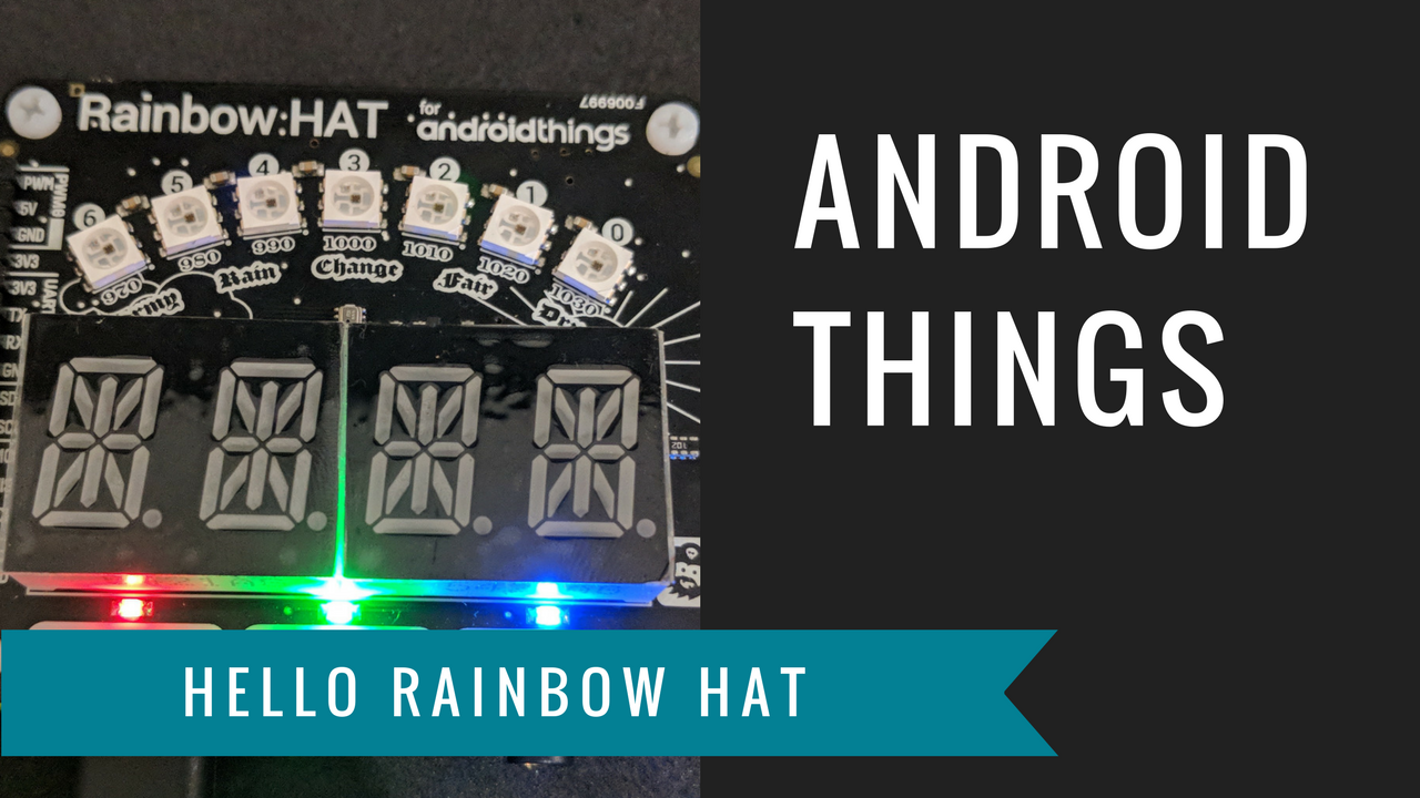 Androidthings Hello Rainbow Hat Nate Ebel Medium Of Building This Circuit Is To Create A Led Flasher With Alternating Setting Out Build Iot Devices Exciting But If Youre Like Me And Havent Worked Much Hardware Electronics Or Peripheral I O Then It Can Seem
