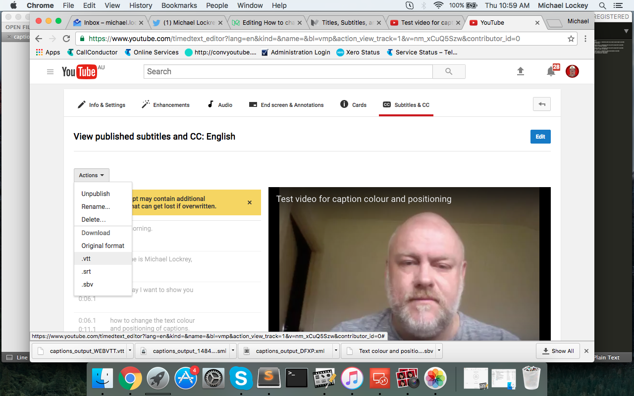 How To Change The Positioning Of Captions In Youtube