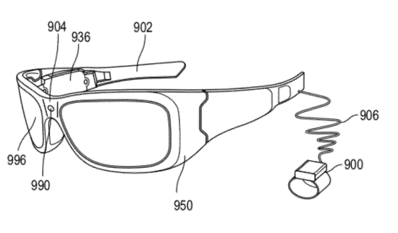 Microsoft AR-enabled glasses
