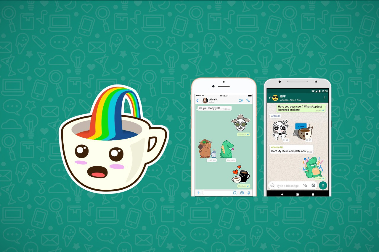 Image result for WhatsApp Stickers Now Rolling Out For Android