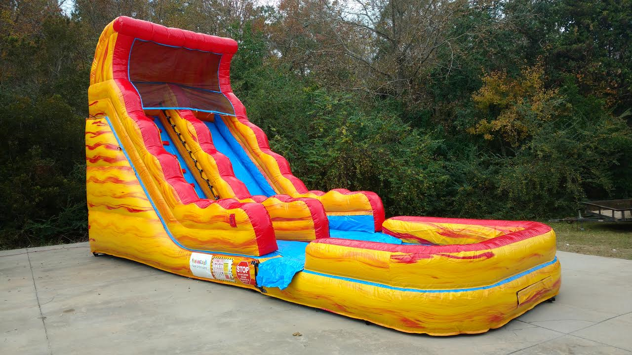 Image result for how to choose water slide rentals