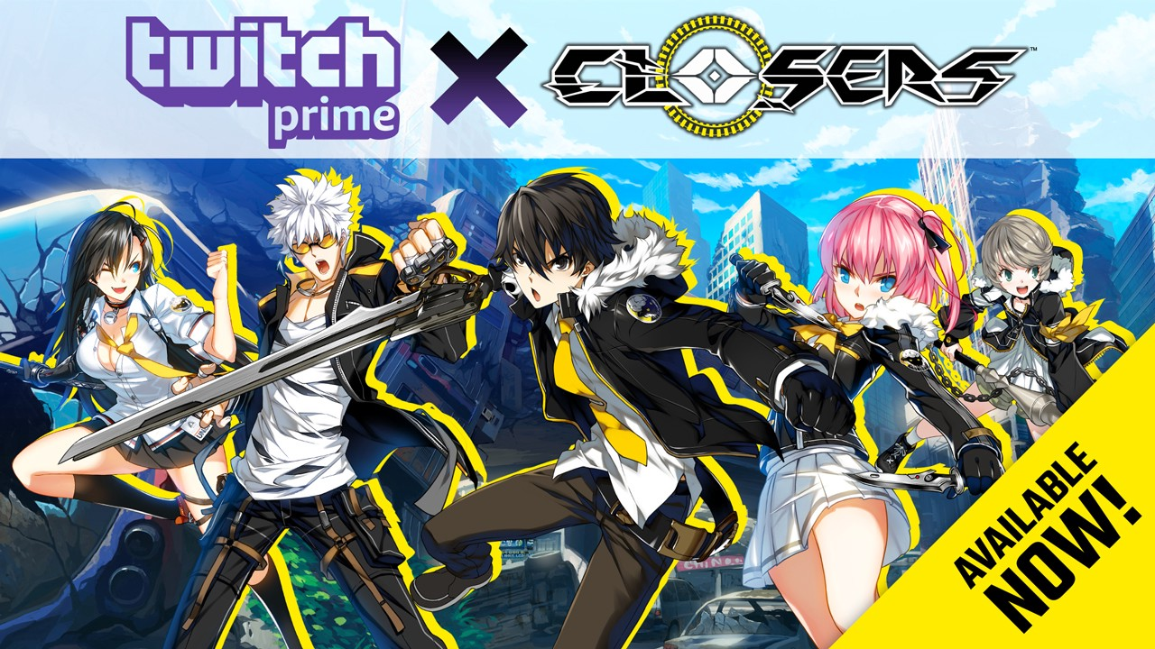 Twitch Prime Members Get Early Access And In Game Loot Closers